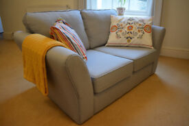 2-Seater Fabric Sofa - Excellent Condition