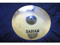 Sabian AAX X-plosion Crash Cymbal 19 in. used but excellent condition