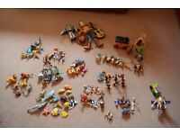 Assorted Disney Pixar Character sets and accessories plus two Buzz Lightyear toys