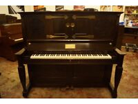 Art Case Bechstein upright piano - Delivery available