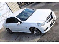 LATE 2010 MERCEDES 3.0 E350 CDI BLUEEFF SPORT AUTO 231 BHP *NIGHT ED SPEC* (FINANCE & WARRANTY)