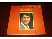 Original Dean Martin Welcome To My World Vinyl LP