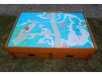 KidKraft Child's Play Table with Two Rolling Drawers
