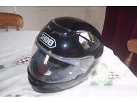 SHOEI RAID II MOTORCYCLE CRASH HELMET