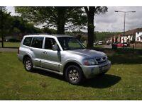 Mitsubishi Shogun 3.2Did 12 Months MOT Silver - Poss PX Price ono