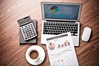 Bookkeeping, Accounting, Tax Returns, Quickbooks Services