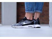 Nike Air Max Thea Ultra FK Black/White Women Trainers Shoes Girls UK 4.5 NEW