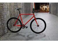 Christmas SALE ! GOKU Steel Frame Single speed road bike TRACK bike fixed gear 45