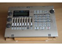 BOSS BR600 8 track recorder & case/memory cards