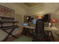 Music Studio Space - £45 per day / £140 per week