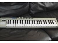 NOVATION USB 49 LE KEYBOARD USB CABLE INCLUDED
