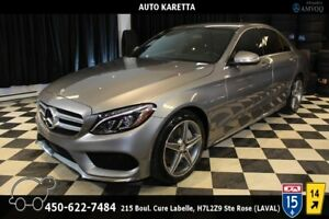 2015 Mercedes-Benz C-Class C 300 4MATIC SPORT AMG/ LUMIERE LED/A