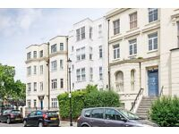 A modern one bedroom apartment with a private garden patio situated in Holland Park and Notting Hill