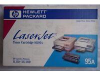 Hewlett Packard HP 95A Toner Cartridge. 92295A. Laserjet ii, iiD, iii, iiiD. Brand new.
