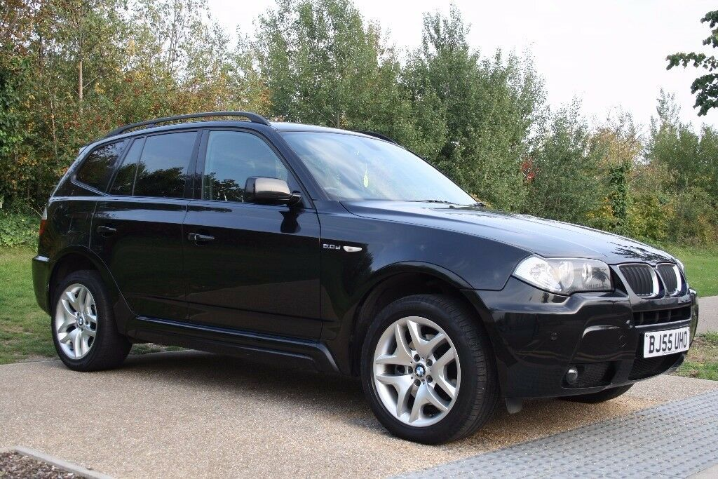 2005 BMW X3 2.0 20d M Sport 5dr FSH, Parking sensors, Black, Alloy wheels, 4X4, Warranty, PX Welcome