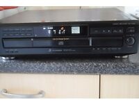 SONY 5 CD CHANGER COMPACT DISC PLAYER