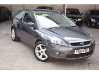 2009 FORD FOCUS ZETEC 1.6 PETROL*3 MONTHS WARRANTY AND BREAK DOWN COVER*NEW MOT & SERVICE*HIGH SPEC