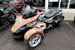 2009 can-am Spyder RS-S SE5