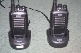 """RCA BR250U professional quality """"walkie-talkies"""""""