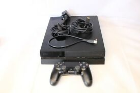 Sony PlayStation 4 500GB Jet Black Console (CUH-1003A) PS4