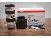 Canon 70-200mm F2.8 IS mk1