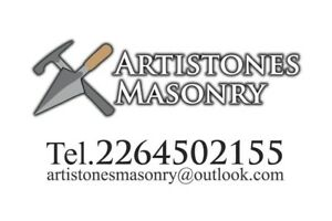 Bricklayer/stonemason for your jobs!