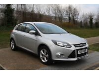 2011 Ford Focus 1.6i Face-Lift Petrol 63k miles 5dr Silver LowMiles 3months Warranty Part Ex Welcome