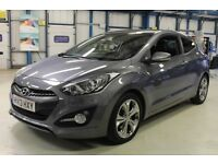 Hyundai i30 CRDI SPORT [LEATHER / BLUETOOTH / CRUISE] (grey titanium metallic) 2013