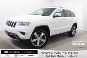 2014 Jeep GRAND CHEROKEE Limited 4X4 *GPS + CUIR + TOIT OUVRANT*