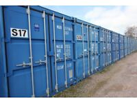 Cheap Self Storage 160 Sq/foot Container from £35 a week Including VAT 24 hours open