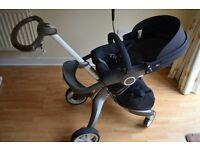 Stokke Xplory V3 Navy including accessories - Excellent Condition