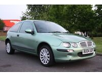 2004 (04) ROVER 25 1.4, MANUAL, PETROL, NEW MOT, JUST SERVICED 3 MONTHS WARRANTY, PX WELCOME
