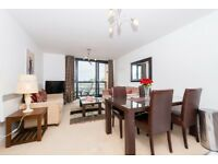 Lovely 2 Bed 2 Bath Apartment in The Sphere, Canning Town, E16, Balcony, Concierge