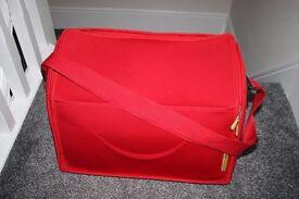 Red Mamas & Papas Mylo large pram CHANGING BAG ***can post***