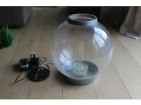 BiOrb 30L silver acrylic fish tank