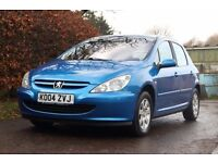 **LONG MOT** Peugeot 307 1.6 S Electric Blue
