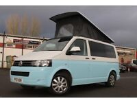 VW T5 4 Berth SWB CAMPERVAN Wild Camper PopTop Roof, Solar Panels, Diesel Heater new conversion