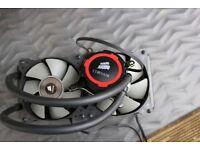 Corsair Hydro Series H105 240mm Extreme Performance Liquid CPU Cooler - AIO