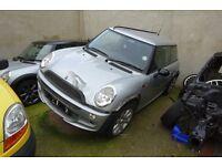 Mini Parts Breakers, 2001-2013 R50, R52, R53, R55, R56 One, Cooper, Cooper S