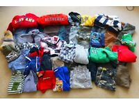 HUGE BUNDLE OF BOYS CLOTHES AGE 4-7YRS (MIXED BRANDS) NEXT, DEBS ETC
