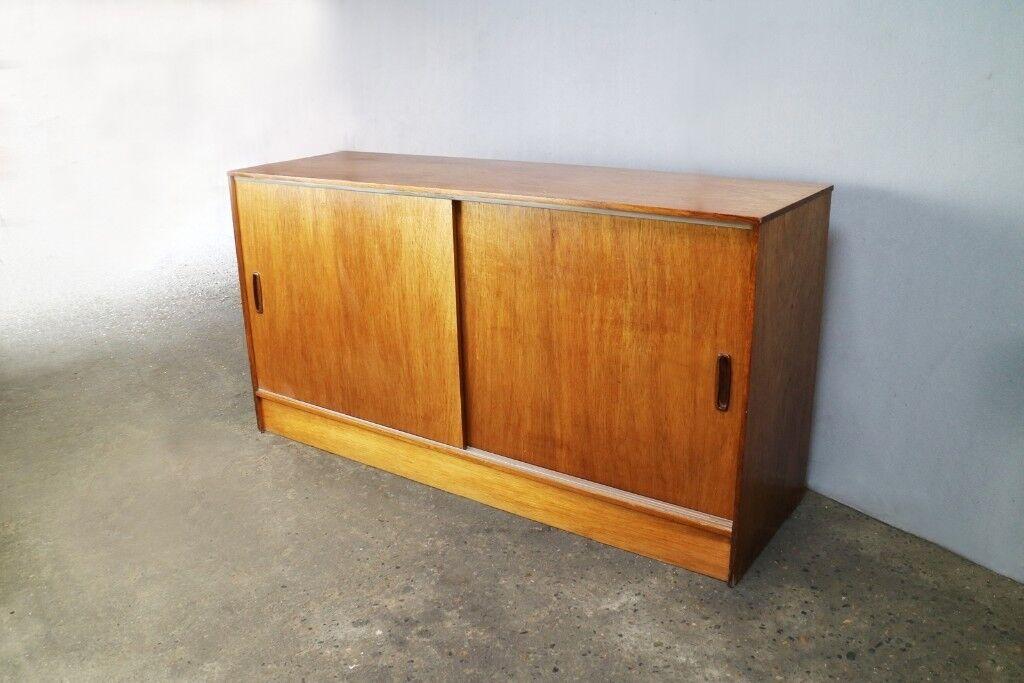 La Credenza In English : 1970?s mid century english long 148cm width credenza storage
