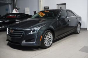 2015 CADILLAC CTS SEDAN AWD SUNROOF NAVIGATION TURBO