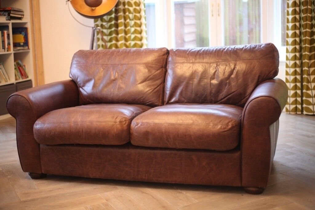 Madison Leather Sofa From John Lewis