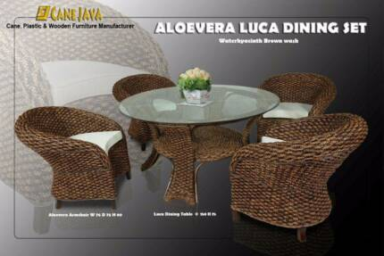 LUCA SET OF 5 PCS WITH ALOEVERA TUB CHAIR ( ORDER NOW) Dandenong South Greater Dandenong Preview