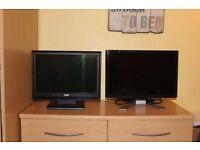 "2 x monitors (19"" and 17"") - VGA only"