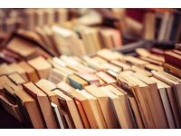 Wanted: Old books, paper, magazines, photos, cards - for collage art