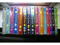 The Simpsons DVD boxsets. Seasons 1-15
