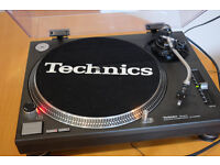 Technics 1200 Mk11 Turntable . Complete with Lid, Cartridge, 45 adaptor - all in good condition