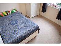 Double room in 3 bedroom flat with living room.Available now.