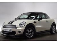 MINI COUPE 1.6 COOPER 2d 120 BHP (white) 2013